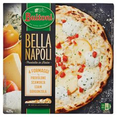 BELLA NAPOLI-BUITONI BELLA NAPOLI 4 FORMAGGI Pizza surgelata 425g (1 pizza)