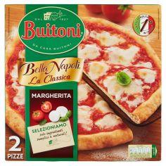 BELLA NAPOLI-BUITONI BELLA NAPOLI LA CLASSICA MARGHERITA Pizza surgelata 660g (2 pizze)