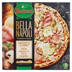 BELLA NAPOLI-BUITONI BELLA NAPOLI PROSCIUTTO E FUNGHI Pizza surgelata 415g (1 pizza)