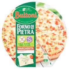 FORNO DI PIETRA-BUITONI FORNO DI PIETRA PIZZA MARGHERITA Senza glutine e senza lattosio pizza surgelata 360g 1 pizza