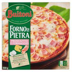 FORNO DI PIETRA-BUITONI FORNO DI PIETRA PIZZA PROSCIUTTO E FORMAGGIO Pizza surgelata 350g (1 pizza)