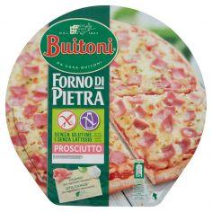 FORNO DI PIETRA-BUITONI FORNO DI PIETRA PIZZA PROSCIUTTO Senza glutine e senza lattosio pizza surgelata 365g 1 pizza