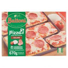BUITONI-BUITONI PIZZA ALLA SECONDA SALAME Pizza surgelata 670g (2 pizze)