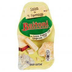 BUITONI-BUITONI SALSA AI 4 FORMAGGI salsa fresca al formaggio 180g