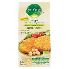 Coop-burger a base di ceci e pomodoro Biologici 2 x 95 g