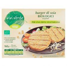 Coop-burger di soia Biologici surgelati 2 burger 160 g