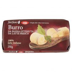 Coop-Burro da Panna Ottenuta da Latte Fresco 250 g