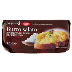 Coop-Burro salato Ottenuto da Panna di Centrifuga 125 g