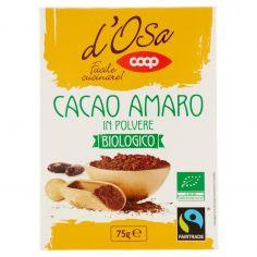 Coop-Cacao Amaro in Polvere Biologico 75 g