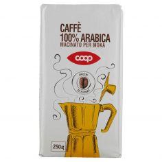Coop-Caffè 100% Arabica Macinato per Moka 250 g