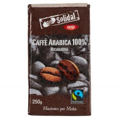 Coop-Caffè Arabica 100% Nicaragua Macinato per Moka 250 g