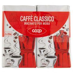 Coop-Caffè Classico Macinato per Moka 2 x 250 g