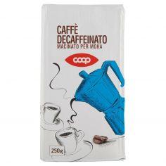 Coop-Caffè Decaffeinato Macinato per Moka 250 g