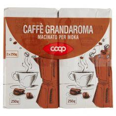 Coop-Caffè Grandaroma Macinato per Moka 2 x 250 g