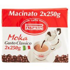 PALOMBINI-Caffè Palombini Moka Gusto Classico Macinato 2 x 250 g