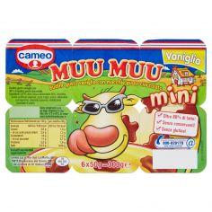 MUU MUU-cameo Muu Muu mini Vaniglia 6 x 50 g