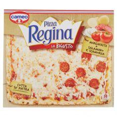 REGINA.-cameo Pizza Regina la Bigusto Margherita + Salamino e Scamorza 490 g