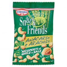 CAMEO-cameo Snack Friends Anacardi e Arachidi Ricoperti di Miele e Sale 125 g
