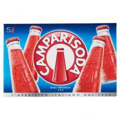 CAMPARI SODA-Camparisoda 5 x 9,8 cl