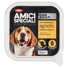 Coop-Cani Adulti Patè Monoproteico agnello 150 g