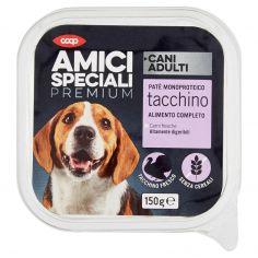 Coop-Cani Adulti Patè Monoproteico tacchino 150 g
