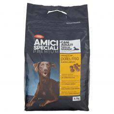 Coop-Cani Adulti Taglia Grande Oltre 25 Kg Crocchette con pollo e riso 4 Kg