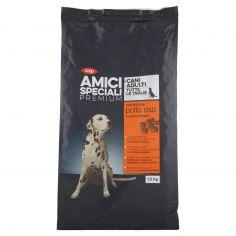 Coop-Cani Adulti Tutte le Taglie Crocchette con pollo e riso 10 Kg