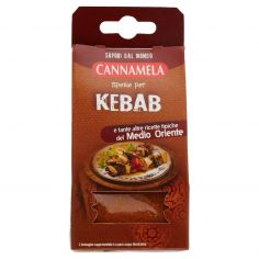 CANNAMELA-Cannamela Sapori dal mondo Spezie per kebab 25 g