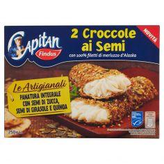 CAPITAN FINDUS-Capitan Findus 2 Croccole ai semi 250 g