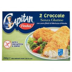CAPITAN FINDUS-Capitan Findus 2 Croccole Senza Glutine 250 g