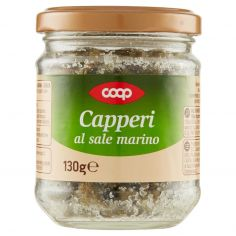 Coop-Capperi al sale marino 130 g