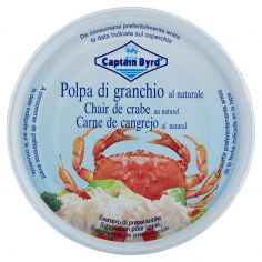CAPTAIN BYRD-Captain Byrd polpa di granchio al naturale 200 g