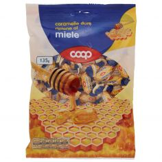 Coop-caramelle dure ripiene al miele 135 g