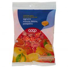Coop-caramelle gelées con succo di frutta agli agrumi arancia, limone, pompelmo 200 g
