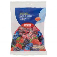 Coop-caramelle gelées con succo di frutta ai frutti di bosco fragola, mora, mirtillo 200 g