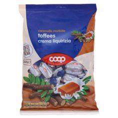 Coop-caramelle morbide toffees crema liquirizia 200 g