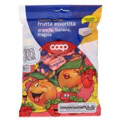 Coop-caramelle toffees frutta assortita arancia, banana, fragola 200 g