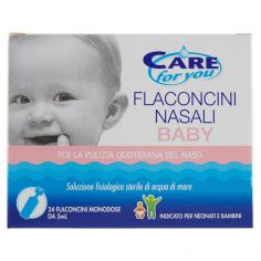 CARE FOR YOU-Care for you Flaconcini Nasali Baby 24 x 5 ml