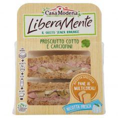 LIBERAMENTE-Casa Modena LiberaMente Prosciutto Cotto e Carciofini 160 g