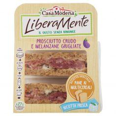LIBERAMENTE-Casa Modena LiberaMente Prosciutto Crudo e Melanzane Grigliate 160 g