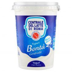 CENTRALE DEL LATTE DI ROMA-Centrale del Latte di Roma Bontà Centrale Yogurt intero bianco 500 g