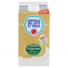 CENTR.ROMA-Centrale del Latte di Roma Gran Sapore latte fresco parzialmente scremato 1,5 litri