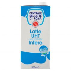 CENTR.ROMA-Centrale del Latte di Roma Latte UHT a Lunga Conservazione Intero 1000 ml