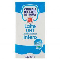 CENTR.ROMA-Centrale del Latte di Roma Latte UHT a Lunga Conservazione Intero 500 ml