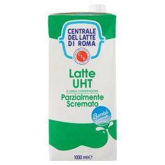 CENTR.ROMA-Centrale del Latte di Roma Latte UHT a Lunga Conservazione Parzialmente Scremato 1000 ml