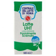 CENTR.ROMA-Centrale del Latte di Roma Latte UHT a Lunga Conservazione Parzialmente Scremato 500 ml