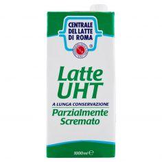 CENTR.ROMA-Centrale del latte di Roma Latte UHT Parzialmente Scremato a lunga conservazione 1000 ml