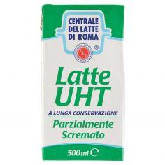CENTR.ROMA-Centrale del latte di Roma Latte UHT Parzialmente Scremato a lunga conservazione 500 ml