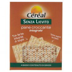 CEREAL-Céréal Senza Lievito pane croccante integrale* 180 g