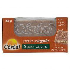 CEREAL-Céréal Senza Lievito pane di segale 500 g